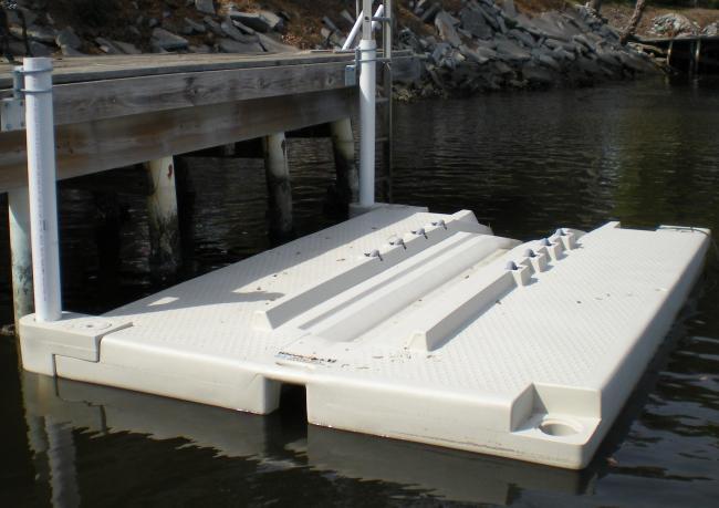 canoe dock rack