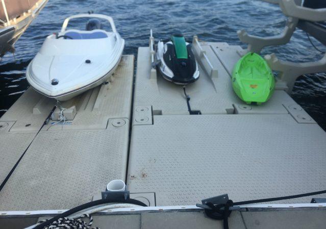 Kayak Dock w Wing & Front